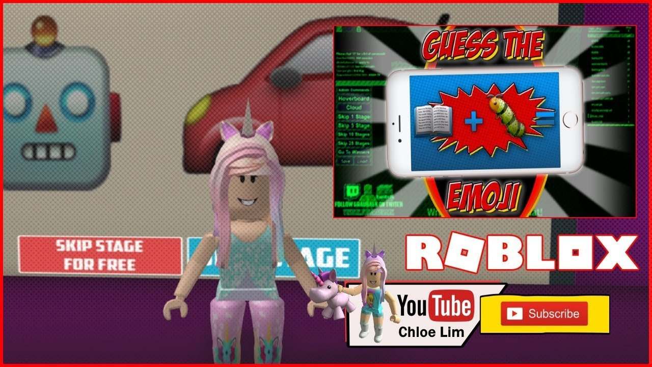 Chloe Tuber Roblox Guess The Emoji Gameplay 227 Stages