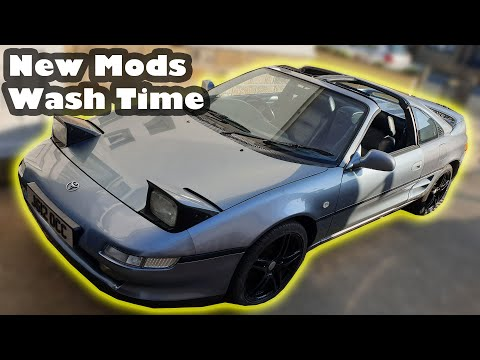 Toyota MR2 And Supra Gets A Quick Clean And New MODS!