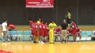 MAH01156 20140806横浜創学館ー小林秀峰 ハンドボール大会
