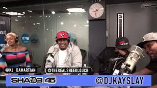 Sheek Louch interview with Dj kayslay at SiriusXM 5/22/19