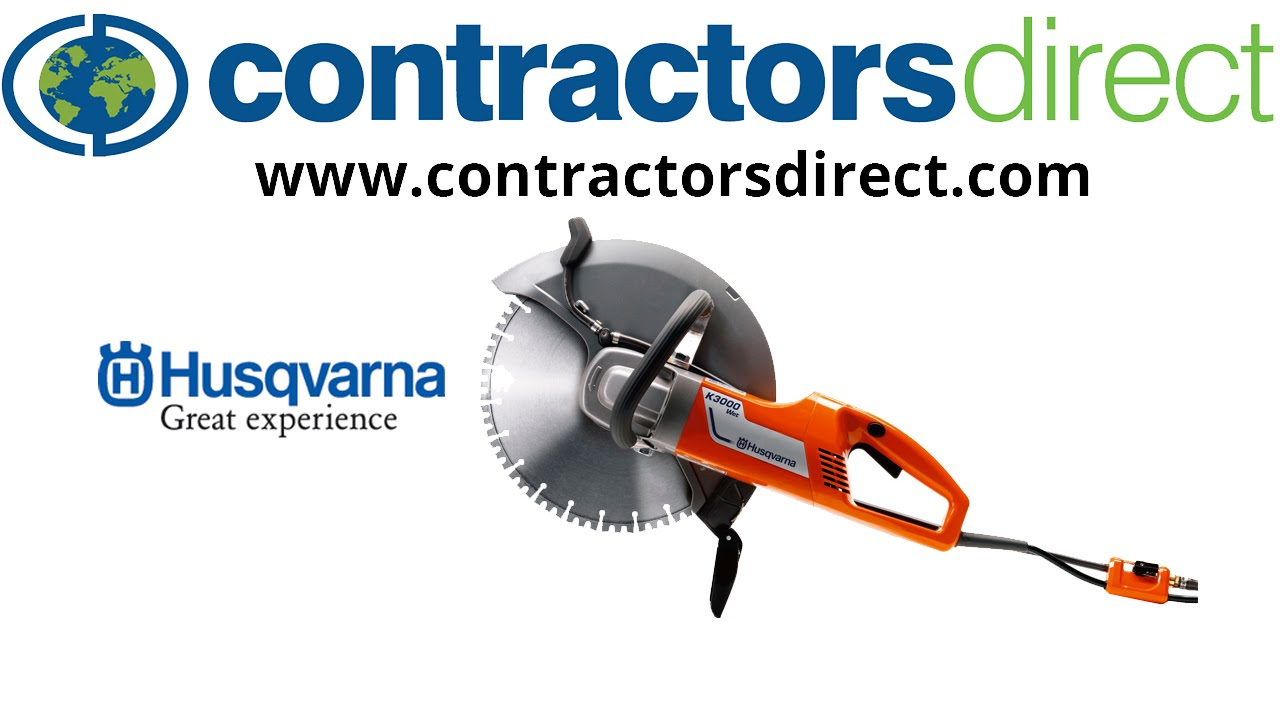 Husqvarna K3000 14 Quot Wet Electric Concrete Saw How To