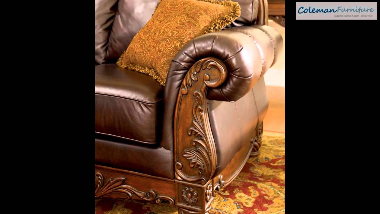 North Shore Dark Brown Living Room Furniture From