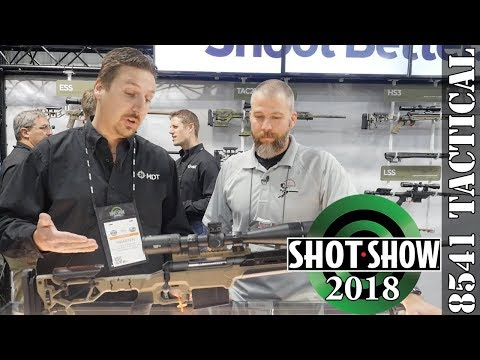 SHOT Show 2018 - Modular Driven Technologies Folding Skeleton Stock and LSS-XL Gen 2 Chassis