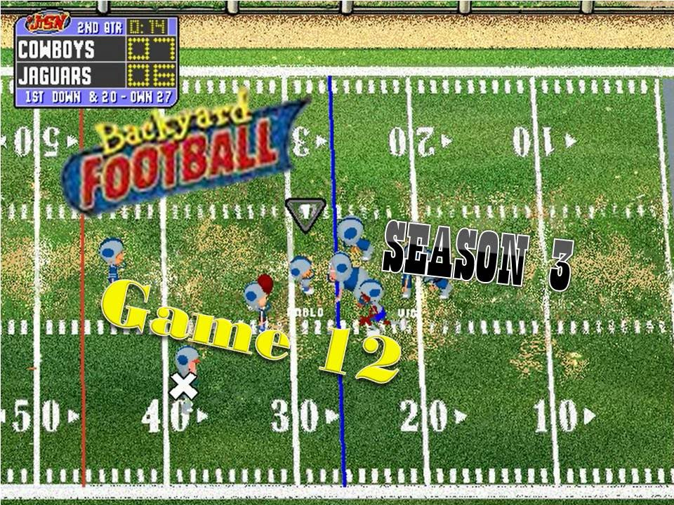 Backyard Football 1999 (PC) (SEASON 3) Game 12: How Low ...