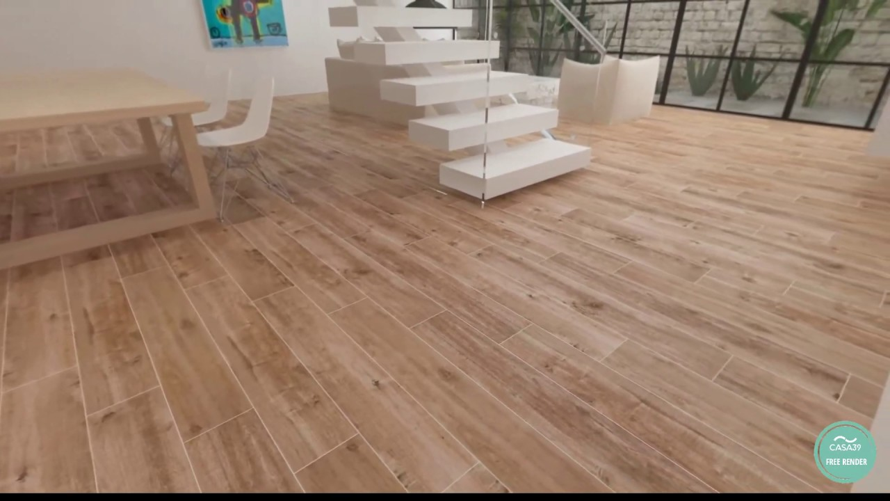 Pavimento Gres Rovere Sbiancato marazzi treverkhome rovere wood effect tiles on casa39
