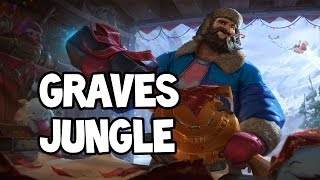 SNOW DAY GRAVES JUNGLE GAMEPLAY - League of Legends