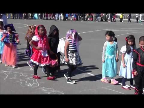Lupine Hills Elementary School Halloween Parade 2015