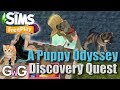 The Sims Freeplay- A Puppy Odyssey Quest