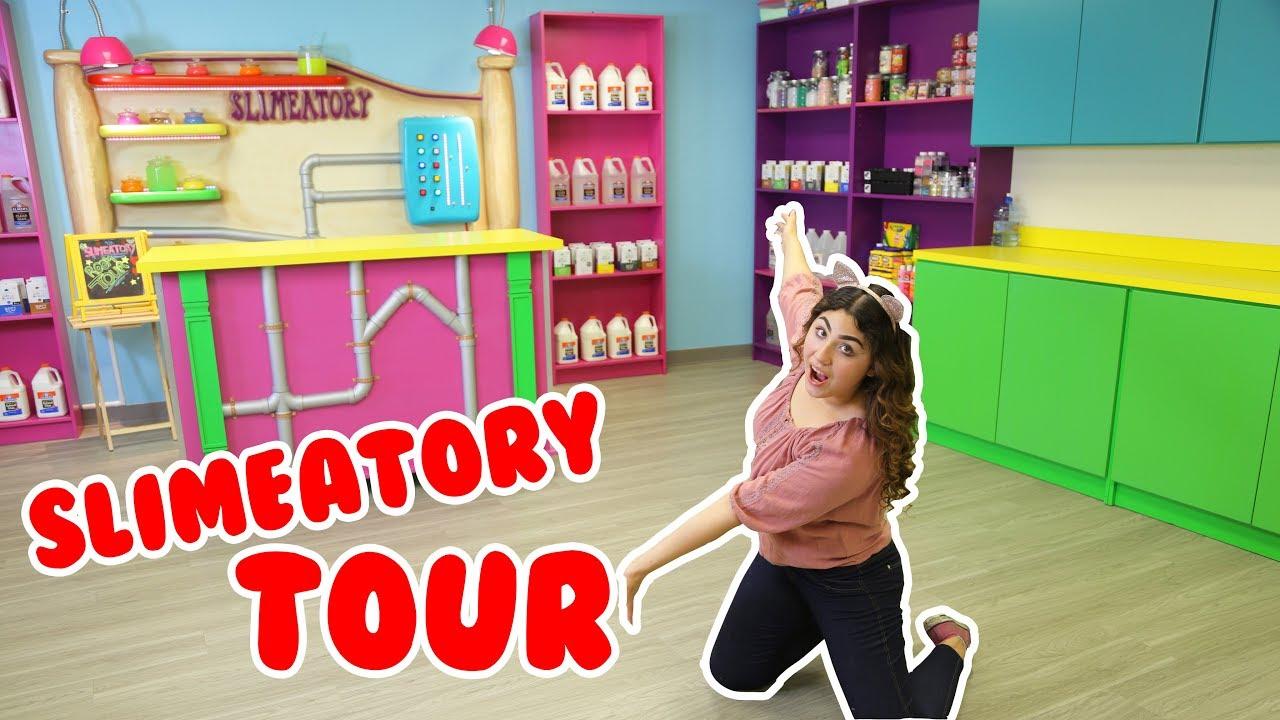 Slimeatory Tour Slime Room Tour Biggest Slime Room Tour Slimeatory 137 Youtube
