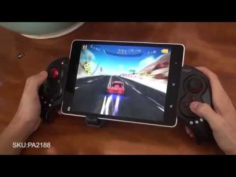 """iPega PG-9023 Portable Bluetooth Gamepad with Telescopic 5-10"""" for Smartphones Tablet PC Computer"""