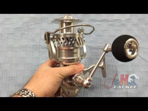 Fox Sport Fishing Stratos 20000 TS Two-Speed Spinning Reels | J&H Tackle