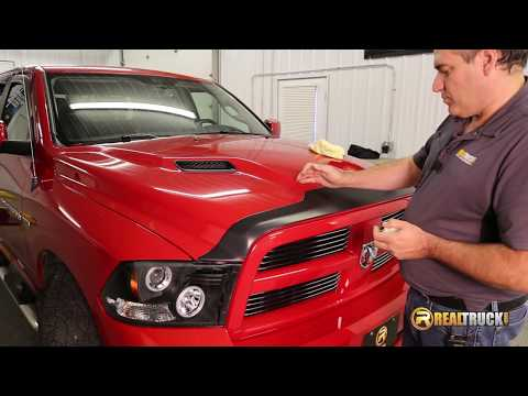 How To Install Lund Vent Visor & Bug Shield Combo Pack