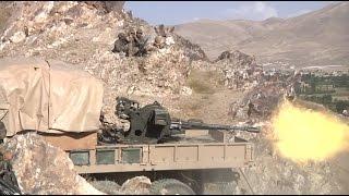 AFGHANISTAN!  Foot Patrol in Wardak Province Leads to a Firefight!
