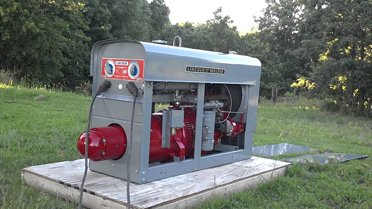Lincoln Welder Sa200 K6090 Pipeliner Red Face All Copper Windings Sa 200 Welding Machines 1962 Sold