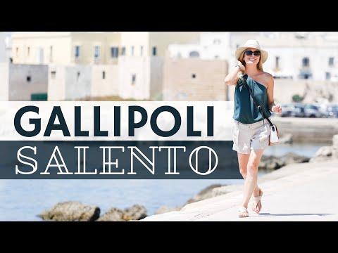 Discovering Gallipoli, Salento (Puglia, Italy) | Sabrina Merolla Vlog - EN Subtitles