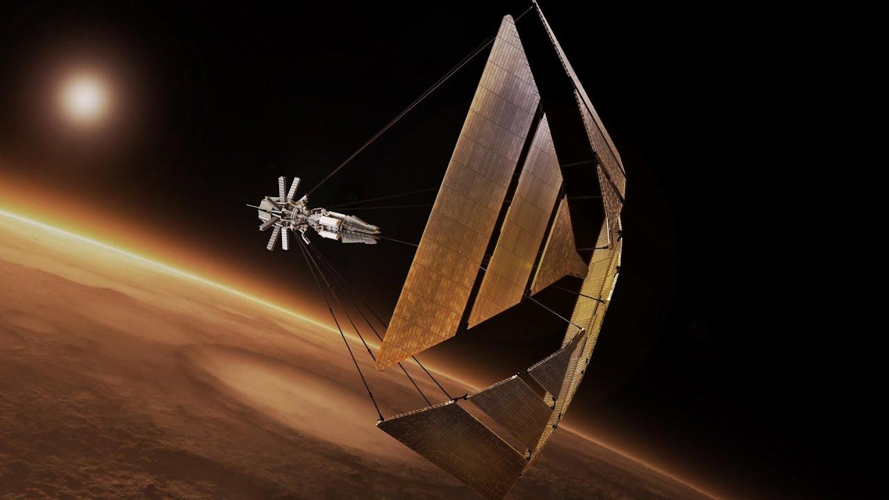 우주선에 돛을 달면 광속의 25%까지 날 수 있다!? 정말 상상을 초월하는 과학자들의 아이디어...