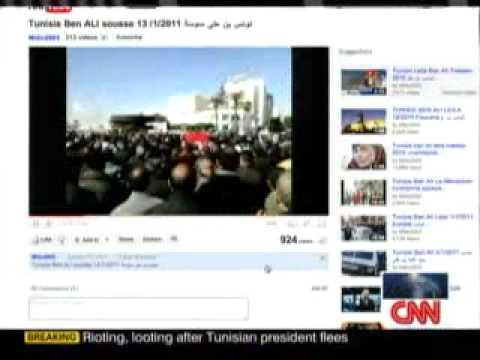 مقايسه قيام تونس با قيام مردم ايران و نقش تويتر