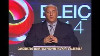 Resumo do debate entre candidatos a governador de Minas