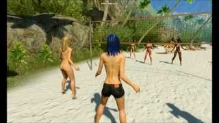 3DXChat beach volleyball