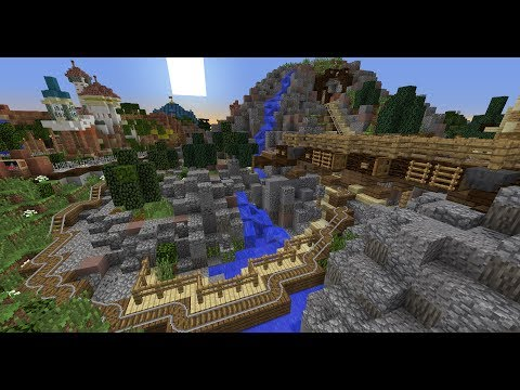 Minecraft - Seven Dwarfs Mine Train