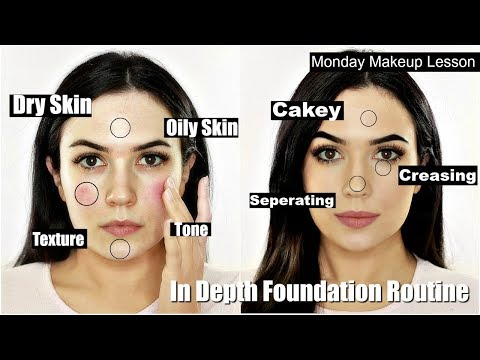 In Depth FULL Foundation Routine For Beginners   EVERYTHING YOU NEED TO KNOW IN ONE VIDEO!