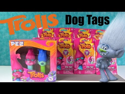 Trolls Blind Bags Toys Surprise Review Dreamworks New T