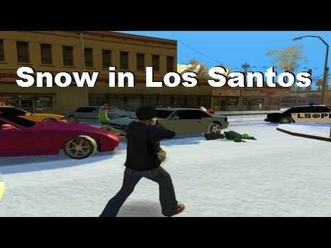 GTA San Andreas - Snow [Mods, Textures & Render]
