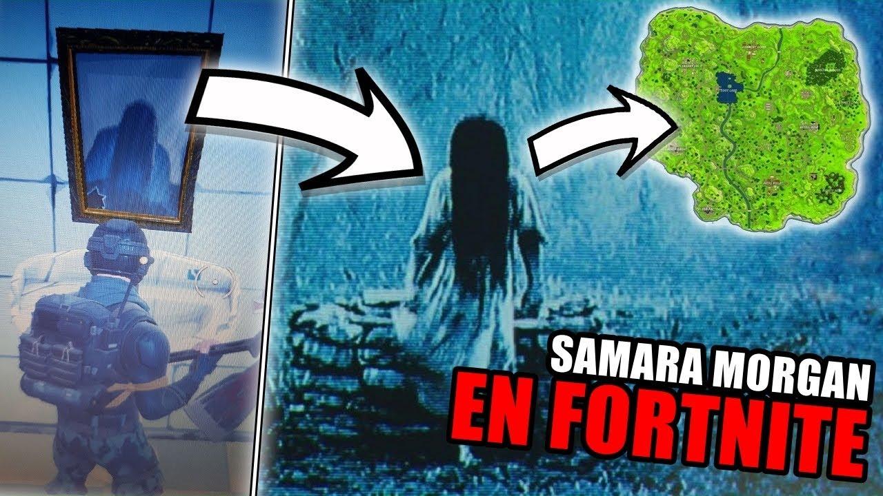 Samara Morgan Aparece En El Pueblo Tomate De Fortnite El