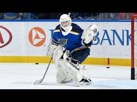 Tyler Stewart - St. Louis Blues emergency goalie - NHL Network