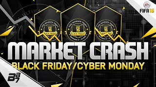 MARKET CRASH COMING! BLACK FRIDAY and CYBER MONDAY INFO | FIFA 16