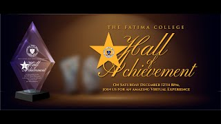 Fatima College Hall of Achievement 2020
