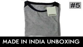 Billion T-shirt by Flipkart-Unboxing & Review!