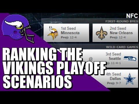 Ranking The Minnesota Vikings Playoff Scenarios