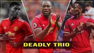 Lukaku - Rashford - Martial 2017/18 ~ The Red Devils Trio - Manchester United | HD 1080p