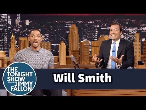 Thumbnail: Will Smith Fanboyed When He Saw the Batmobile on the Suicide Squad Set