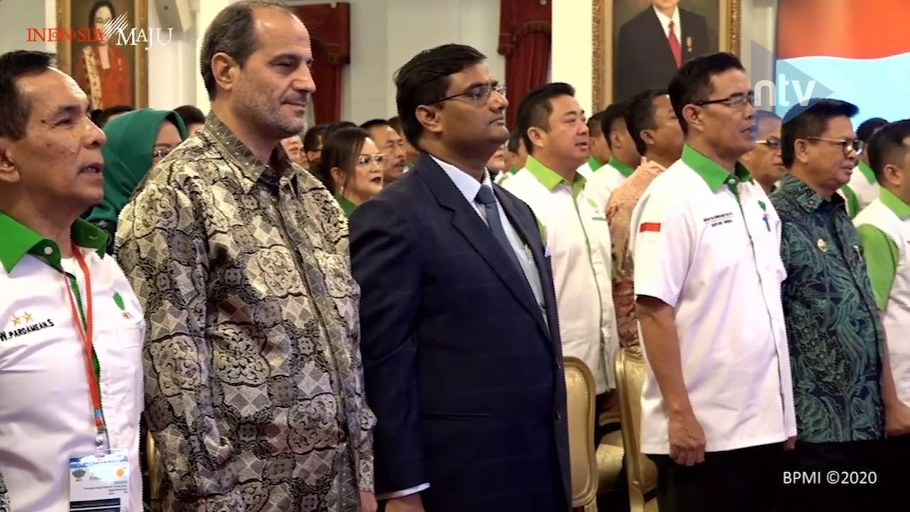Presiden Buka Forum Pangan dan Pertanian Asia 2020