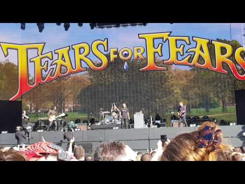 Tears for fears hyde park london - rule the world