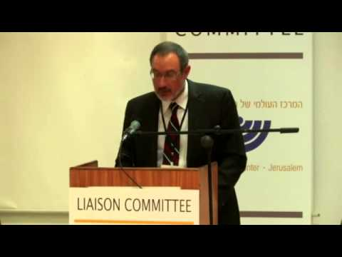 Intro of Rev. Wilkinson - The Mainline Protestant Churches and the State of Israel