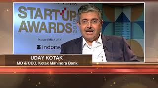 ET Startup Awards 2019   Uday Kotak & Rahul Mehta