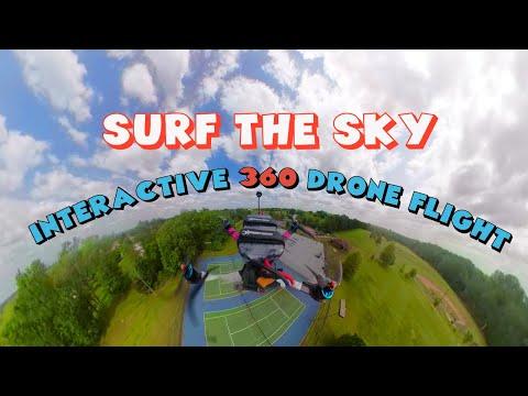 Фото INTERACTIVE 360 CAMERA ON A DRONE!