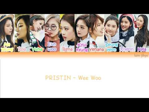 Free Download Pristin (프리스틴) – Wee Woo Lyrics (han|rom|eng|color Coded) Mp3 dan Mp4