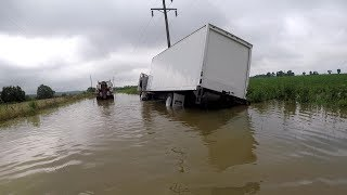 Box Truck VS Flood Water