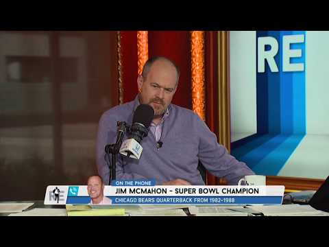 Super Bowl Champion Jim McMahon on Origin of SB Shuffle Music Video - 1/3/18