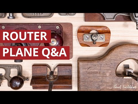 Router Plane Q&A | Paul Sellers