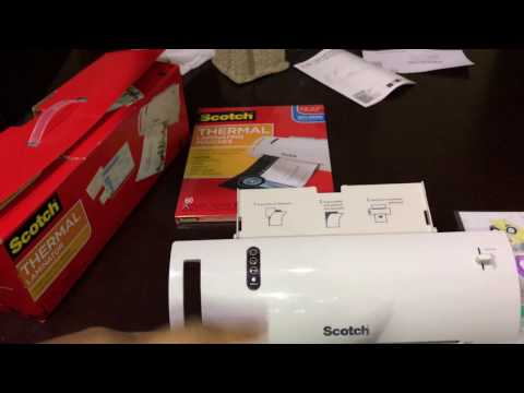 Scotch Thermal Laminator Review