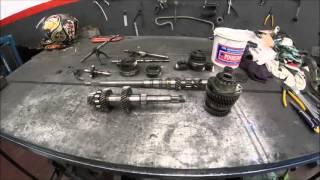 #2 Cambio Forjado: Desmontagem e inicio da montagem