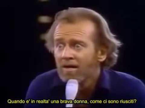 George Carlin - Le 7 parole da non dire in TV (7 dirty words sub ita)
