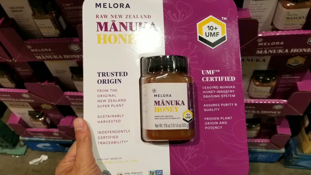 Costco! Melora Certified UMF 10+ Manuka Honey 17 6 oz! $35!!!