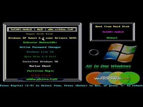 windows xp sweet 6.2 gratuit myegy