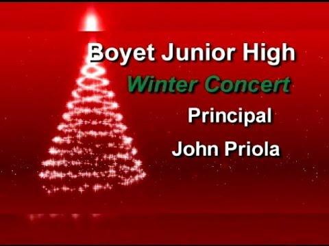 Boyet Junior High School- Christmas Program 2015